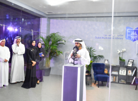 بالفيديو.. حمدان بن محمد يدشن أكبر مكتبة سمعية باللغة العربية في العالم