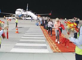 مطار رأس الخيمة يستقبل رحلة مباشرة من فروتسواف البولندية
