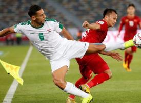 هدف عدنان المتأخر يمنح العراق فوزا مثيرا على فيتنام في كأس آسيا