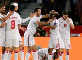 منتخب الإمارات يتصدر المجموعة الأولى بعد فوزه على الهند في كأس آسيا
