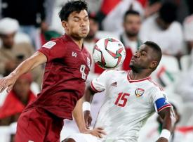 الإمارات تضمن صدارة المجموعة الأولى بالتعادل مع منتخب تايلاند في كأس آسيا