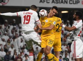 الإمارات إلى نصف نهائي كأس آسيا بعد الفوز على أستراليا حاملة لقب البطولة