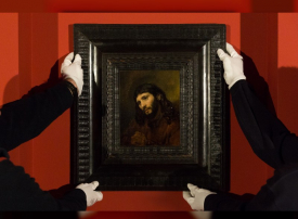 اللوفر أبوظبي يعرض لوحة نادرة للرسام الهولندي رامبرانت يوم 14 فبراير