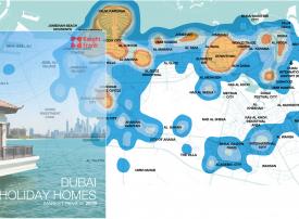 بيوت العطلات في دبي تنافس فئة من الفنادق