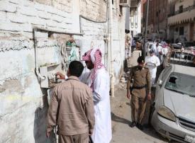 بدء إجراءات إزالة 106 عقار بحي النكاسة في مكة المكرمة