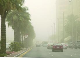 أمطار وأتربة وشبه انعدام للرؤية في جميع مناطق السعودية