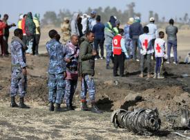 تفاصيل جديدة عن اللحظات الأخيرة للطائرة الإثيوبية المنكوبة