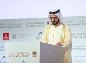 محمد بن راشد يعلن عن تأسيس أول مجموعة عربية للتعاون الفضائي