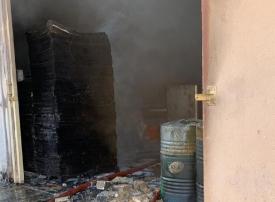 وفاة عامل وإصابة 4 جراء حريق مستودع للعطور بعجمان