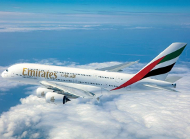 طيران الإمارات تنال جائزة أفضل درجة أولى في العالم