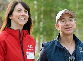 مؤسس أمازون يدفع  35 مليار دولار للانفصال عن زوجته