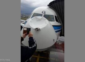 هبوط طائرة كويتية في مطار بيروت بعد تعرّضها لصاعقة في الجو