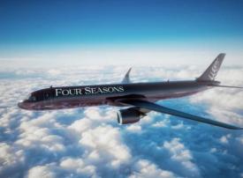بالصور : فورسيزونز تطلق طائرة إيرباص الخاصة في 2021