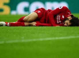 محمد صلاح بخير بعد إصابته القوية في مباراة ليفربول ونيوكاسل