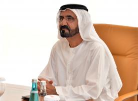 محمد بن راشد يأمر بصرف 26 مليون درهم مكافأة لملاك لوحات مركبات الأجرة