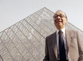 وفاة المعماري الشهير آي.إم. بي مصمم هرم متحف اللوفر الزجاجي