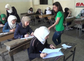 وزارة التربية السورية: نتائج امتحانات الشهادة الثانوية قبل التعليم الأساسي وكاميرات مراقبة