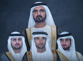 الإمارات تحتفل بزواج حمدان ومكتوم وأحمد بن محمد بن راشد آل مكتوم