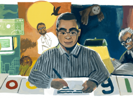 من هو العراب المصري أحمد خالد توفيق الذي تحتفل به جوجل اليوم؟