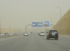 الأرصاد تحذر من أتربة ورياح وتدني مدى الرؤية في الرياض