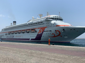 دبي تستقبل أول سفينة سياحية هندية تنظم رحلات في الخليج العربي