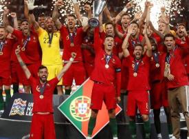 احتفالات تعم البرتغال بعد تتويجيها بلقب دوري الأمم الأوروبية