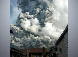 بالصور : أقوى الانفجارات البراكنية في الأعوام الماضية