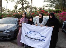 فيديو: سعوديات يؤسسن أول نادٍ للسيارات في المملكة