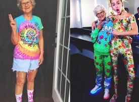 بالصور : أكبر مؤثرة في مواقع التواصل الاجتماعي بعمر الـ 90