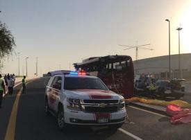 إحالة سائق الباص العُماني إلى المحكمة بدبي ومطالبته بسداد 3 ملايين درهم