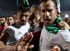 فيديو مثير يوثق فرحة هستيرية بالجزائر لحظة تسجيل هدف محاربو الصحراء القاتل