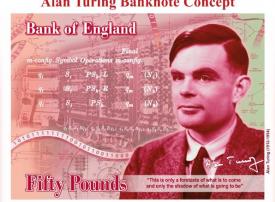 من هو رائد الكومبيوتر الذي ستظهر صورته على أكبر عملة نقدية لإنجلترا؟