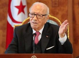 تونس: نقل الرئيس السبسي للمستشفى بعد تعرضه لأزمة صحية مفاجئة