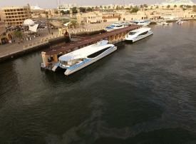 طرق دبي تدشن خدمة الفيري للنقل البحري مع الشارقة بـ 42 رحلة يومياً