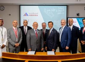 شركة البحر الأحمر توقع عقداً لتطوير فندق خاص بمنسوبي المشروع