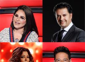 راغب وأحلام .. سميرة وحماقي في موسم جديد من The Voice