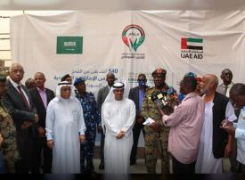 السعودية والإمارات تدعمان شعب السودان بتوريد 540 ألف طن من القمح