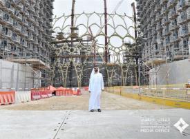 شاهد.. محمد بن راشد يتفقد مشاريع البنية التحتية لـ إكسبو 2020 دبي