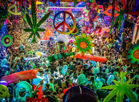 بالصور : الحفل الموسيقي المفعم بالألوان