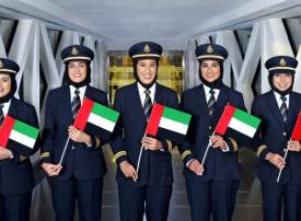 شاهد.. 5 مواطنات يقدن طائرات الإمارات إلى 5 قارات في يوم واحد