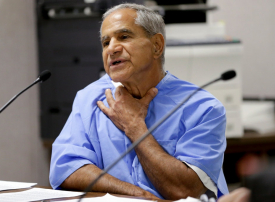 طعن سرحان سرحان الفلسطيني المدان بقتل روبرت كنيدي في سجنه بكاليفورنيا
