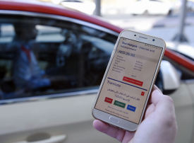 واي فاي مجاني وخدمات رقمية مبتكرة في مركبات الأجرة بدبي
