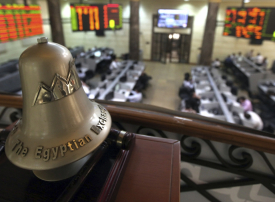 سهم الإمارات دبي الوطني يدعم بورصة دبي والشركات المالية ترفع بورصة مصر