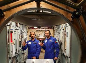 وثائقي على ناشيونال جيوغرافيك لرحلة أول رائد فضاء إماراتي إلى محطة الفضاء الدولية
