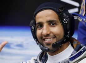 بالصور : أول رائد عربي في محطة الفضاء الدولية
