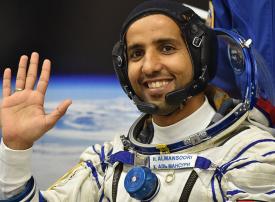 بعد نجاح الوصول.. الإماراتي هزاع المنصوري يصبح أول عربي يزور محطة الفضاء الدولية