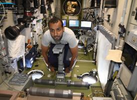 هزاع المنصوري: تجارب لدراسة مؤشرات حالة العظام وتنظيم الغدد الصماء لرواد الفضاء