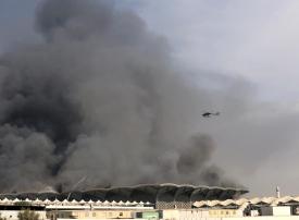 أمير مكة يشكل لجنة للتحقيق في أسباب حريق محطة قطار الحرمين ورفع نتائجها للملك