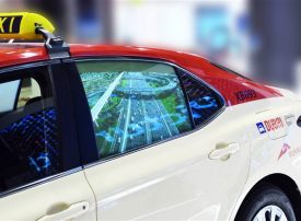 طرق دبي تطلق الإعلانات الرقمية على نوافذ مركبات الأجرة في جيتكس 2019