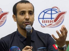 هزاع المنصوري يعود إلى أرض الإمارات السبت